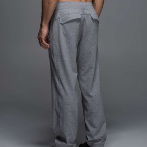 Lululemon Kung Fu Pant 2.0 Heathered Grey